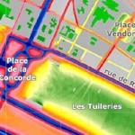 Mapa de ruido de Paris