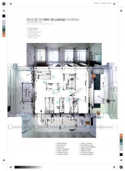 taller de paisaje: modelos