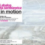 22NOV // 17h AIR IN MOTION conferencia de Iñaki Ábalos & Renata Sentkiewicz