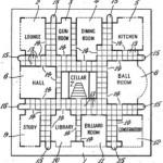 #crimescapes: CLUEDO patent specification by Ernest Pratt