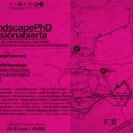 20-21 ENE 16:00 Aula 1N5 // landscapePhD // lab#02 paisaje // sesión abierta